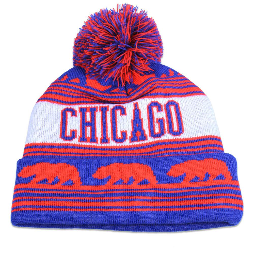 College Chicago North Side Beanie - Grassroots California - 2