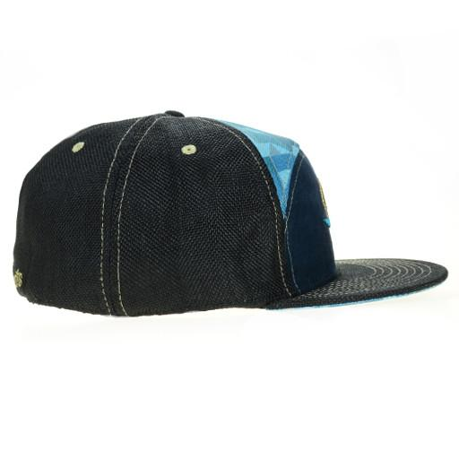 GRC Surf Bear Blue 6 Panel Fitted - Grassroots California - 2