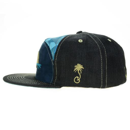 GRC Surf Bear Blue 6 Panel Fitted - Grassroots California - 3