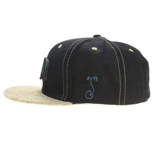 Removable Bear 2015 Simple Black Hemp Fitted - Grassroots California - 4