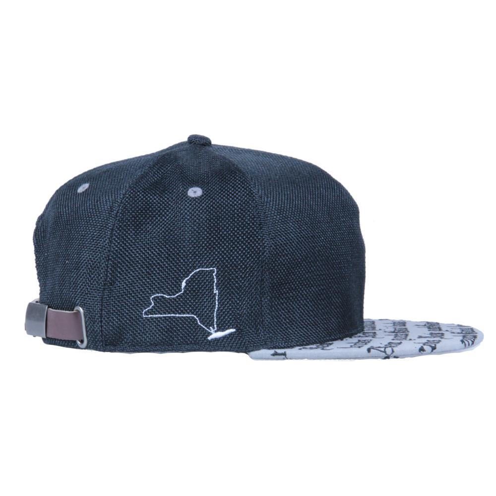 Good Looks NY Black Strapback - Grassroots California - 4