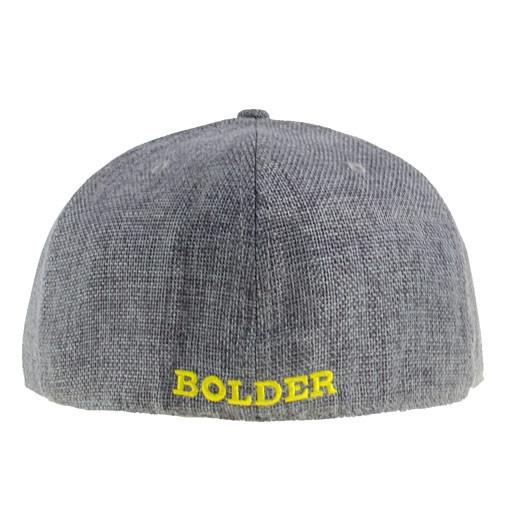 Removable B Bolder Extracts Gray Fitted - Grassroots California - 6