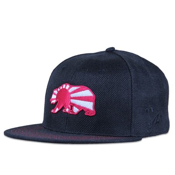 7 Union Bear Black Snapback - Grassroots California - 1