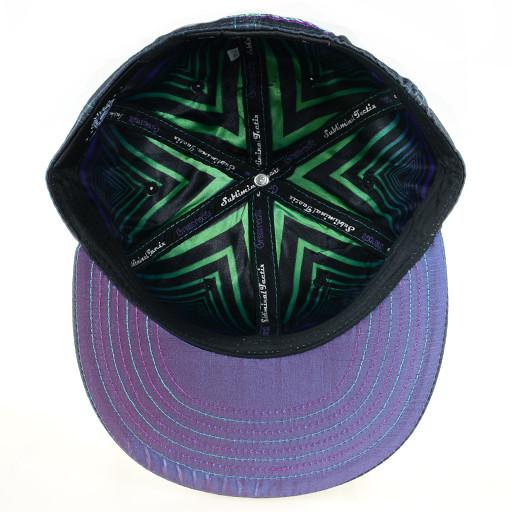 Subliminal Tactix Space Funk Black Fitted - Grassroots California - 5