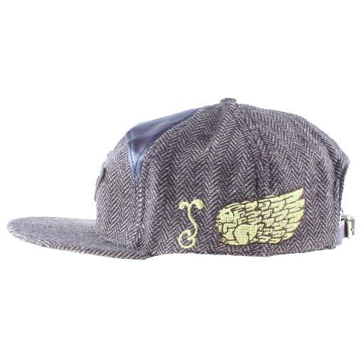 Jeremy Fish 6 Panel Metal Strapback - Grassroots California - 3