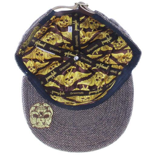 Jeremy Fish 6 Panel Metal Strapback - Grassroots California - 5