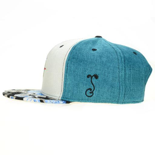 North Coast 2015 White Snapback - Grassroots California - 3
