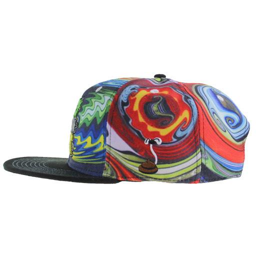 Monkey Throw Poop Glass Mismatch Snapback - Grassroots California - 3