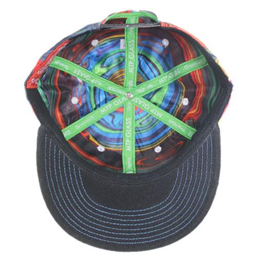 Monkey Throw Poop Glass Mismatch Snapback - Grassroots California - 5