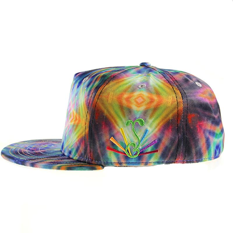 Saxton ROYGBIV Full Shallow Fitted - Grassroots California - 3