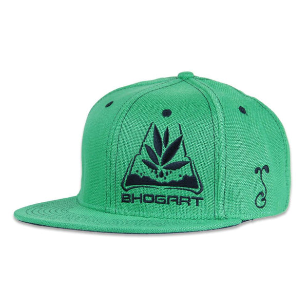 BHOgart Turtle Power Green Snapback - Grassroots California - 1