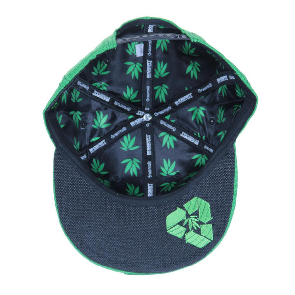 BHOgart Turtle Power Green Snapback - Grassroots California - 2