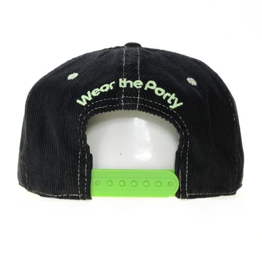 Wear The Party Black V2 Snapback - Grassroots California - 4