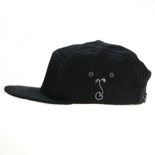 Touch of Class All Black 5 Panel Strapback - Grassroots California - 3