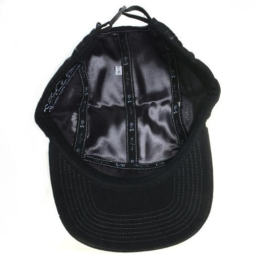 Touch of Class All Black 5 Panel Strapback - Grassroots California - 5