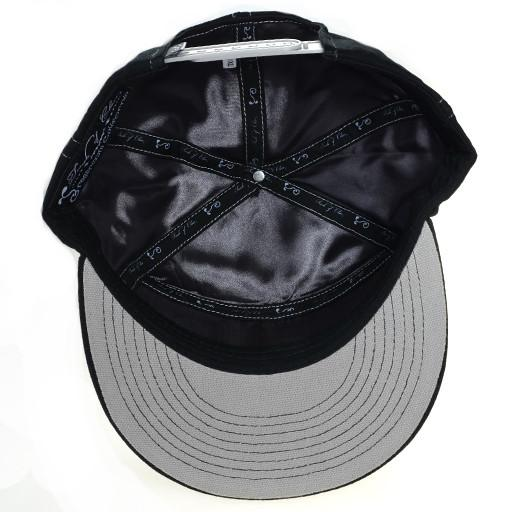 Touch of Class Black Gray 6 Panel Snapback - Grassroots California - 5