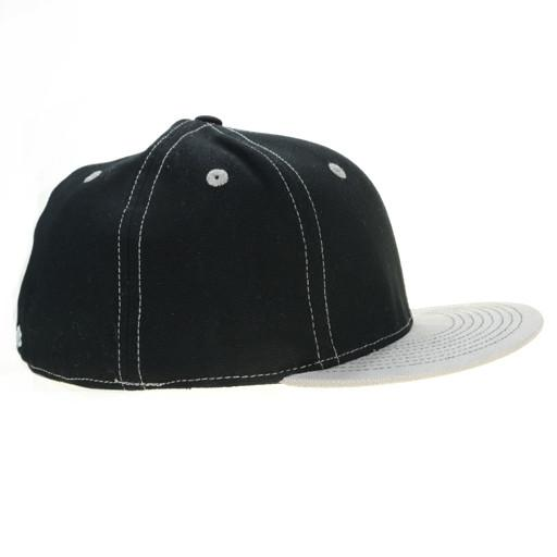Touch of Class Black Gray Fitted - Grassroots California - 2
