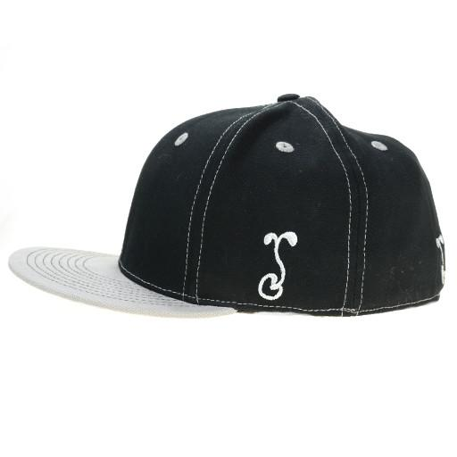 Touch of Class Black Gray Fitted - Grassroots California - 3