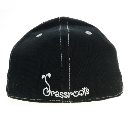Touch of Class Black Gray Fitted - Grassroots California - 4