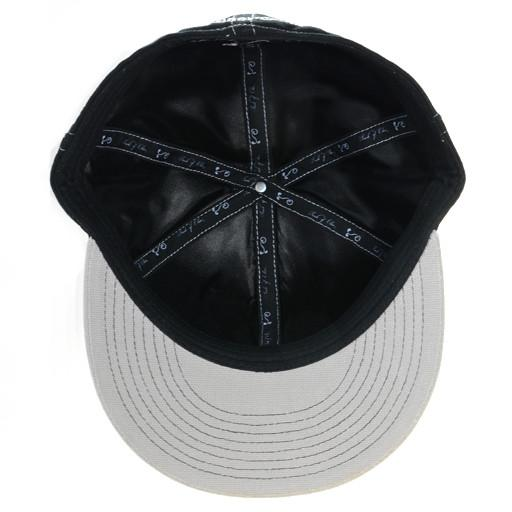 Touch of Class Black Gray Fitted - Grassroots California - 5