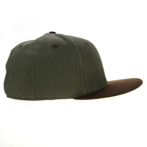 Touch of Class Green Brown Fitted - Grassroots California - 2