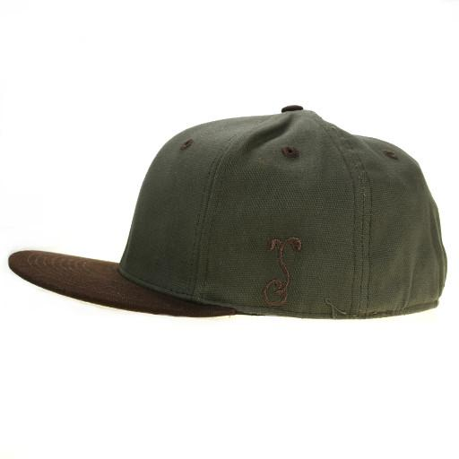 Touch of Class Green Brown Fitted - Grassroots California - 3