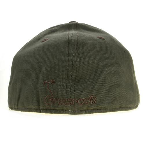 Touch of Class Green Brown Fitted - Grassroots California - 4