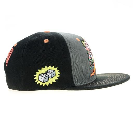 Lollapalooza 2015 Monster Black Snapback - Grassroots California - 2