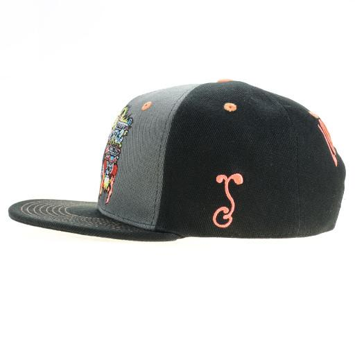 Lollapalooza 2015 Monster Black Snapback - Grassroots California - 3