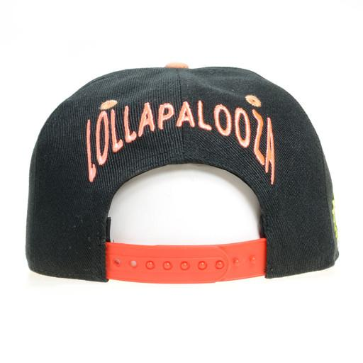 Lollapalooza 2015 Monster Black Snapback - Grassroots California - 4