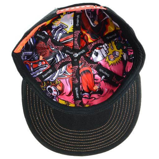 Lollapalooza 2015 Monster Black Snapback - Grassroots California - 5
