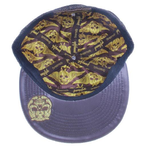 Jeremy Fish 6 Panel Metal Fitted - Grassroots California - 5