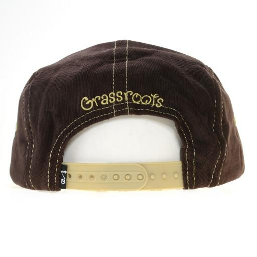 Removable Bear Real Print 5 Panel Snapback - Grassroots California - 5