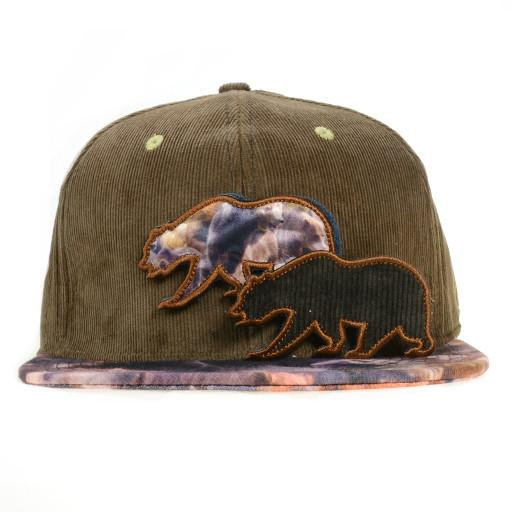 Removable Bear Real Print Fitted - Grassroots California - 2
