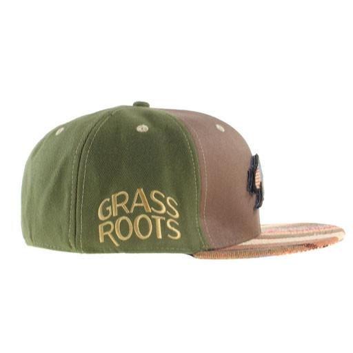 Removable Bear Brown Tweed Stripe Fitted - Grassroots California - 3