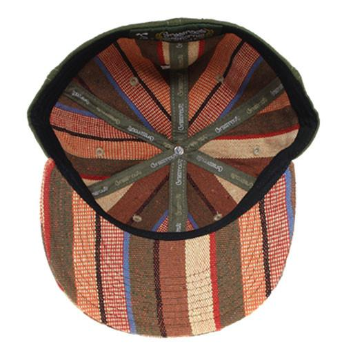Removable Bear Brown Tweed Stripe Fitted - Grassroots California - 6