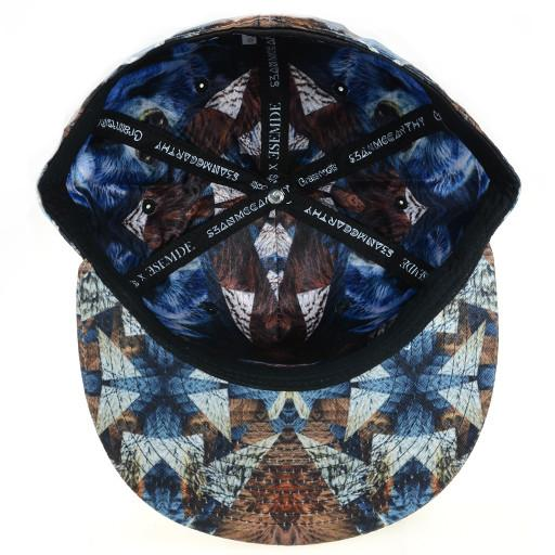 Psychedelic Bear Shallow Fitted - Grassroots California - 5