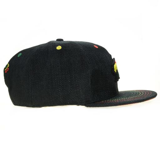 Removable Bear Rasta Snapback - Grassroots California - 2