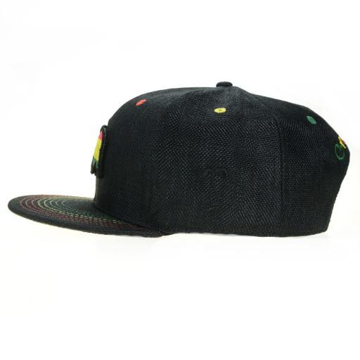 Removable Bear Rasta Snapback - Grassroots California - 3