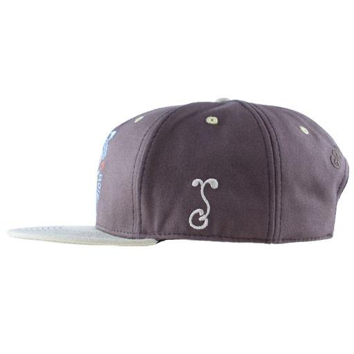 Mountain Division Sprout Badge Brown Snapback - Grassroots California - 3