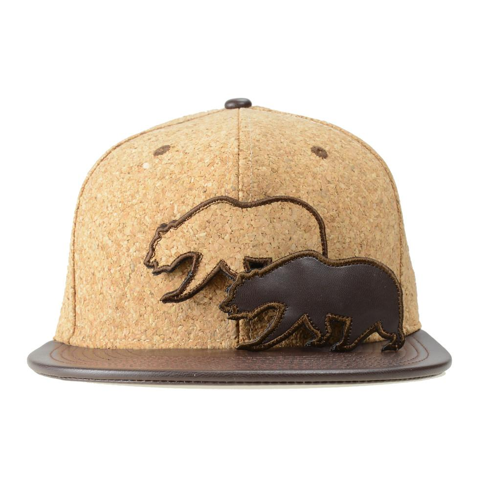 Removable Bear Cork Snapback - Grassroots California - 2