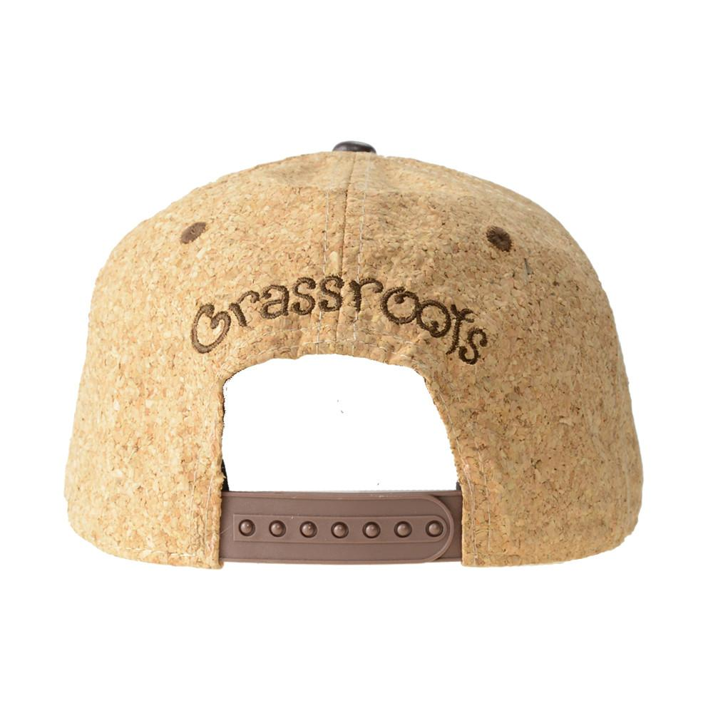 Removable Bear Cork Snapback - Grassroots California - 5