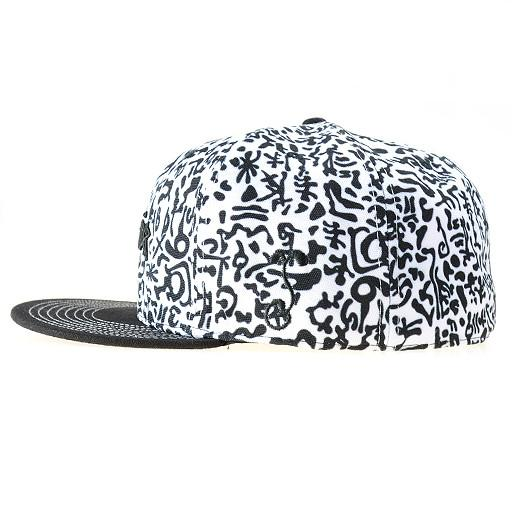 Jerry Garcia Black & White Fitted - Grassroots California - 3