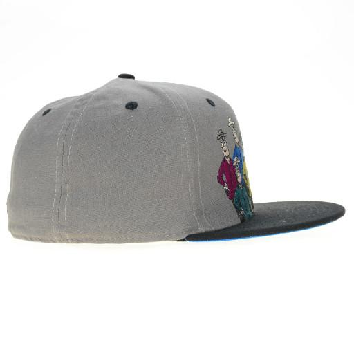 Jerry Garcia Guys Gray Fitted - Grassroots California - 4