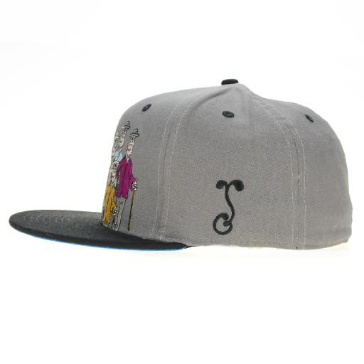 Jerry Garcia Guys Gray Fitted - Grassroots California - 5