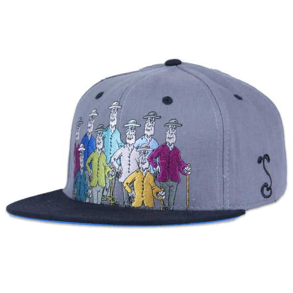 Jerry Garcia Guys Gray Fitted - Grassroots California - 1