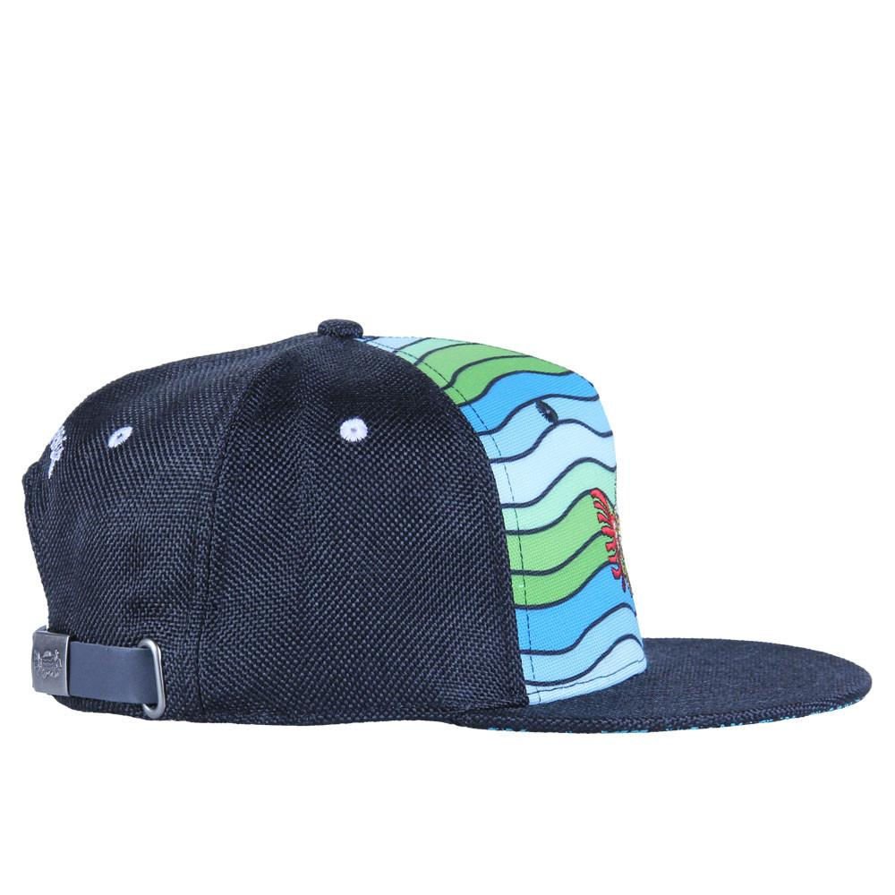 Jerry Garcia Waves Shallow Strapback - Grassroots California - 8