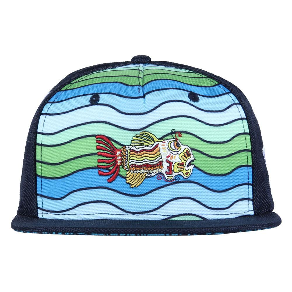 Jerry Garcia Waves Shallow Strapback - Grassroots California - 10