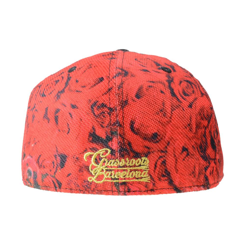 Flamenco Barcelona Fan Fitted - Grassroots California - 4