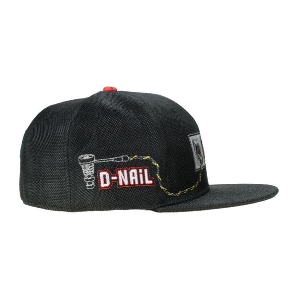 DNail Black Fitted - Grassroots California - 2